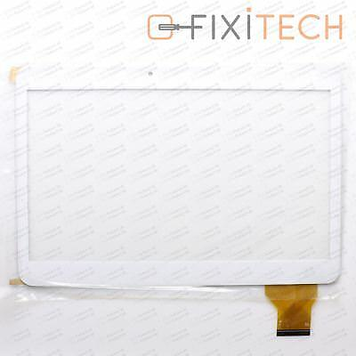 White Touchscreen Display Glass Digitizer Compatible with Tablet MTK6582 Quad