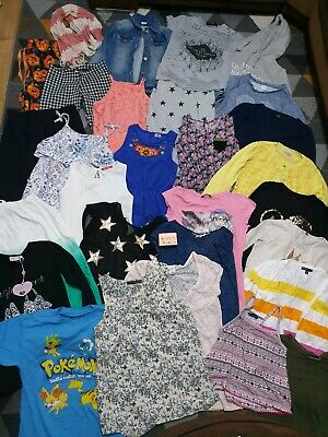 Huge Bundle Of Girls Clothes 10-11years #435  NEW LOOK F&F GEORGE GAP H&M NEXT