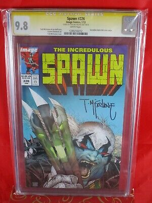 Image Comics Spawn The INCREDULOUS #226 CGC SS 9.8 Signed By Todd McFarlane