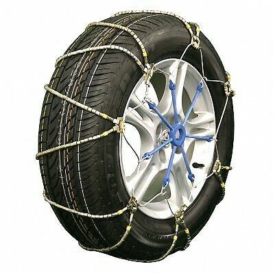 """A1026 Lightning """"Z"""" Style Emergency Traction Snow Cable Chains Passenger Vehicle"""