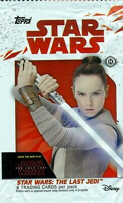 2017 Toops & Disney Commplete 100 Card Base Set Star Wars The Last Jedi Serie 1