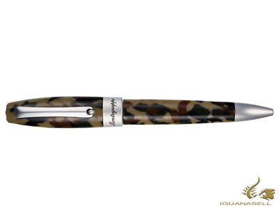 Montegrappa Fortuna Camouflage Ballpoint pen, Green, ISFORBCA