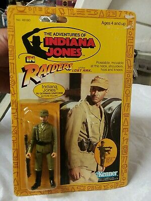 HASBRO INDIANA JONES RAIDERS OF THE LOST ARK GERMAN SOLDIER, sealed