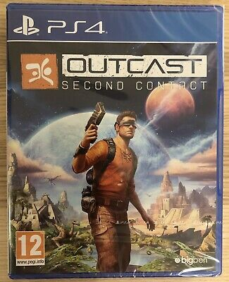 Outcast second contact - Neuf Sous Blister - ps4