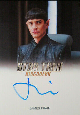 "Star Trek Discovery Autograph Card James Frain as ""Sarek"""