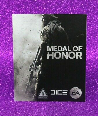 Instruction Booklet/Manual Only For Medal Of Honor Ps3 (No Game) 📮 Oz Seller