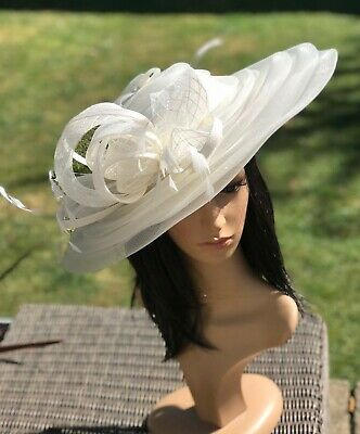 Peter Bettley Ivory Wedding Hatinator Hat Mother Of The Bride Formal Occasion