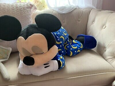 Disney Parks Dream Friends Sleeping Baby Mickey Mouse 18 inch Plush Doll NEW
