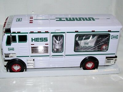 Hess Toy Truck 2018 Hess Rv With Atv And Motorbike, Limited Edition - New!!