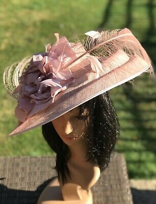 Peter Bettley Rose Wedding Hatinator Hat Mother Of The Bride Occasion Formal
