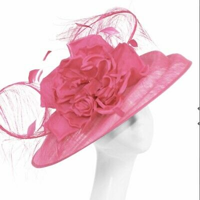 Peter Bettley Fuchsia Pink  Wedding Hatinator Hat Mother Of The Bride Occasion