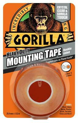 Gorilla Tape 3044101 Gorilla® Heavy Duty Double Sided Mounting Tape 1.5m X 25mm