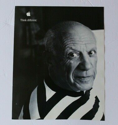 Apple Computer Poster Ansel Adams The Crazy Ones 1998 RARE 36 x 24