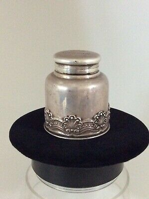 Tiffany & Co Antique Sterling Silver Inkwell