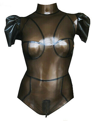 latex rubber Gummi Leotard Sz 12-14s Bodysuit,catsuit/playsuit