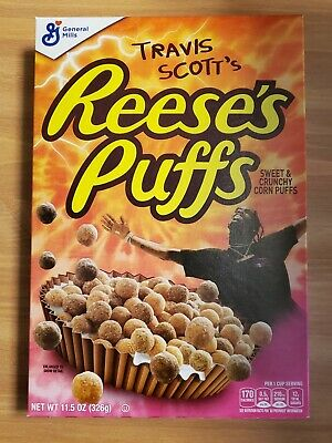 Travis Scott X Reeses Puffs Cereal Cactus Jack Special Edition. SHIPS FREE!