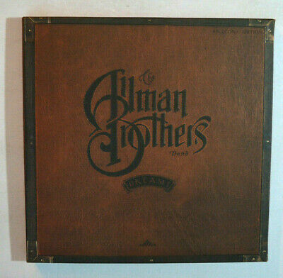 ROCK BOX SET LP - THE ALLMAN BROTHERS BAND - DREAMS 6xLP 1989 w/ BOOK M-