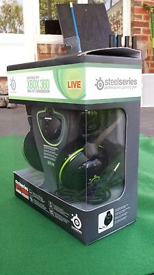 Steelseries SPECTRUM 5XB Professional Gaming Headset for XBox 360 - Black