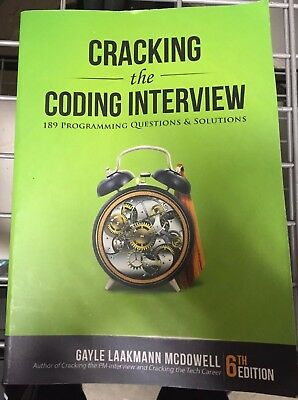 Cracking the Coding Interview 6th Edition: 189 Programming Questions & Solutions