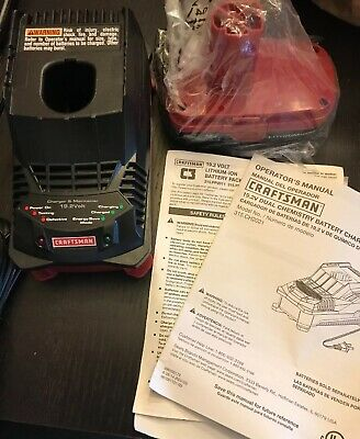 NEW Craftsman 19.2-Volt C-3 Lithium-Ion PP2011 Battery Pack & CH2021 Charger