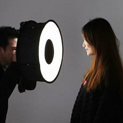 Camera 45cm Folding Ring Softbox Flash Lighting Photography Hood Light Lamp