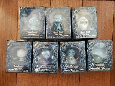Funko Haunted Mansion Mystery Minis BoxLunch Hot Topic Exclusives Complete Set
