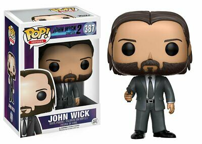 Flawed Box Funko Pop! Movies John Wick Chapter 2 John Wick #387 Vinyl Figure