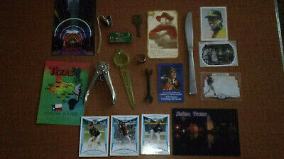 Junk Drawer Lot Vintage, Sterling Silver Ring, Autograph, Advertising,