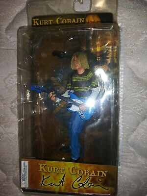 "Kurt Cobain Action Figure Smells Like Teen Spirit 6.5"" Neca 2006 Sealed NEW"