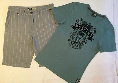 MOSSIMO Boys Size 14 Shirt & MOSSIMO Size 16 Shorts Set- PERFECT CONDITION