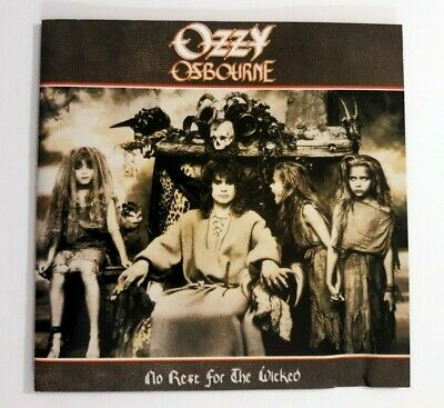 Ozzy Osbourne No Rest for the Wicked CD, 2002, Epic Geezer Butler