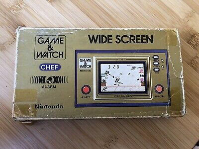 Nintendo Game And Watch Chef