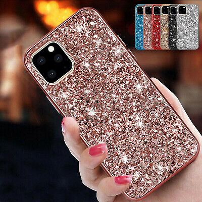 For iPhone 11 Pro Max 11 Pro Case Bling Glitter Hybrid Rubber Shockproof Cover