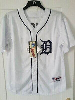 Detroit Tigers MLB Authentic Collection Baseball Jersey NEW Large Size #15