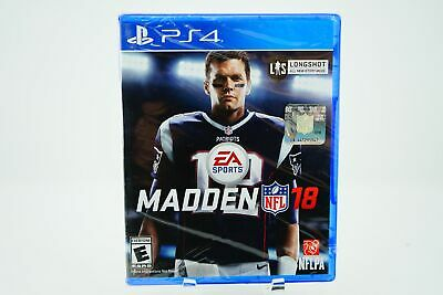 Madden NFL 18: Playstation 4 [Brand New] PS4