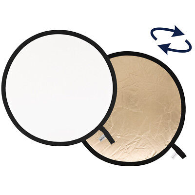 Lastolite 30cm Collapsible Reflector Sunfire/White