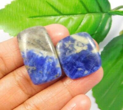 38 Cts. 100% Natural Lot Of Sodalite Loose Cabochon Gemstone NG2239