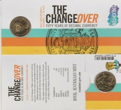 2016 $1 The Changeover 50 Years Of Decimal Currency ''C'' Mintmark Coin