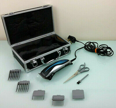 Nicky Clarke Extreme Male Clippers Grooming Kit Beard Trimmer Set In Case