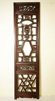 Antique Chinese Screen Panel (2945), Cunninghamia wood, Circa 1800-1849