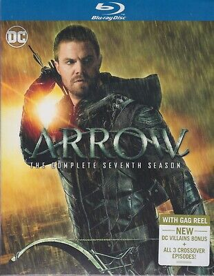 ARROW THE COMPLETE SEVENTH SEASON BLURAY SET with Stephen Amell & David Ramsay