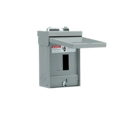 Murray 60 Amp 2-Space 4-Circuit Outdoor Main Lug Load Center
