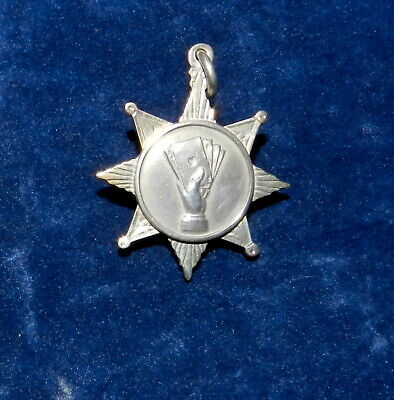 """Solid Silver """"Whist"""" Watch Fob Hallmarked 1919"""