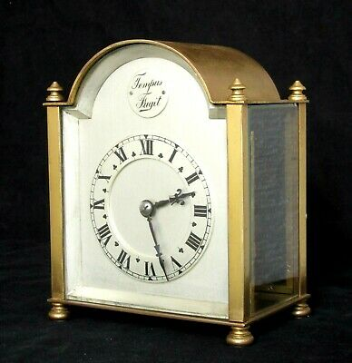 Rare Antique French Couaillet Humpback Striking Carriage Clock, Working Well