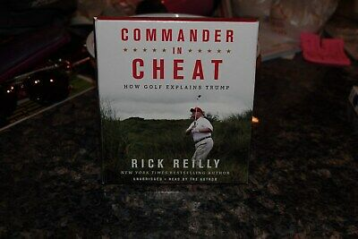 COMMANDER IN CHEAT by RICK REILLY 6CD UNABRIDGED AUDIOBOOK  FREE SHIPPING