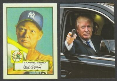 DONALD TRUMP 1952 Topps Baseball Card