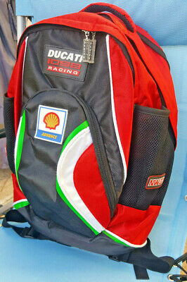 Rare Ducati 1098 Racing NW200 Back Pack Panigale North West 200 Racing New