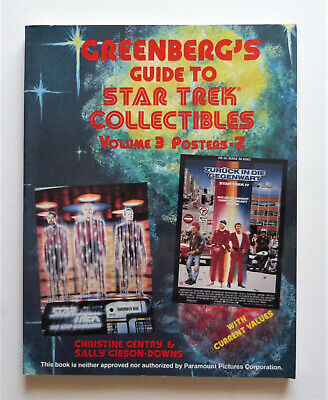 Greenberg's Guide to Star Trek Collectibles Volumes 3. 1992.