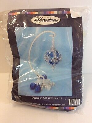 Herrschners Obsession #35 Ornament Kit