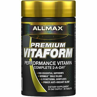 ALLMAX Nutrition Vitaform Premium MultiVitamin For Men 60 Tablets